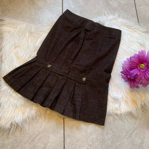 {BCX} brown skirt. Size 5